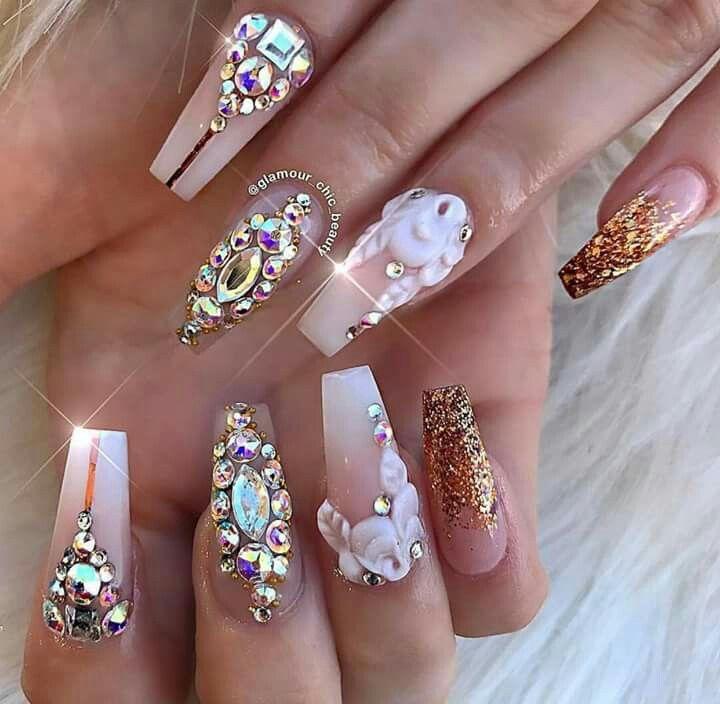 Pin de Letice Davis en Nails | Pinterest | Diseños de uñas, Armarios ...