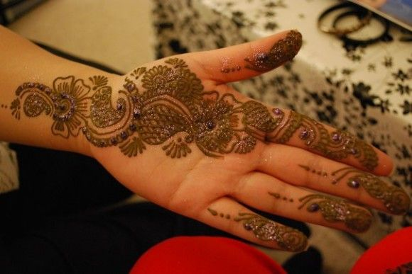 New Party Mehndi Designs : Latest party mehndi designs