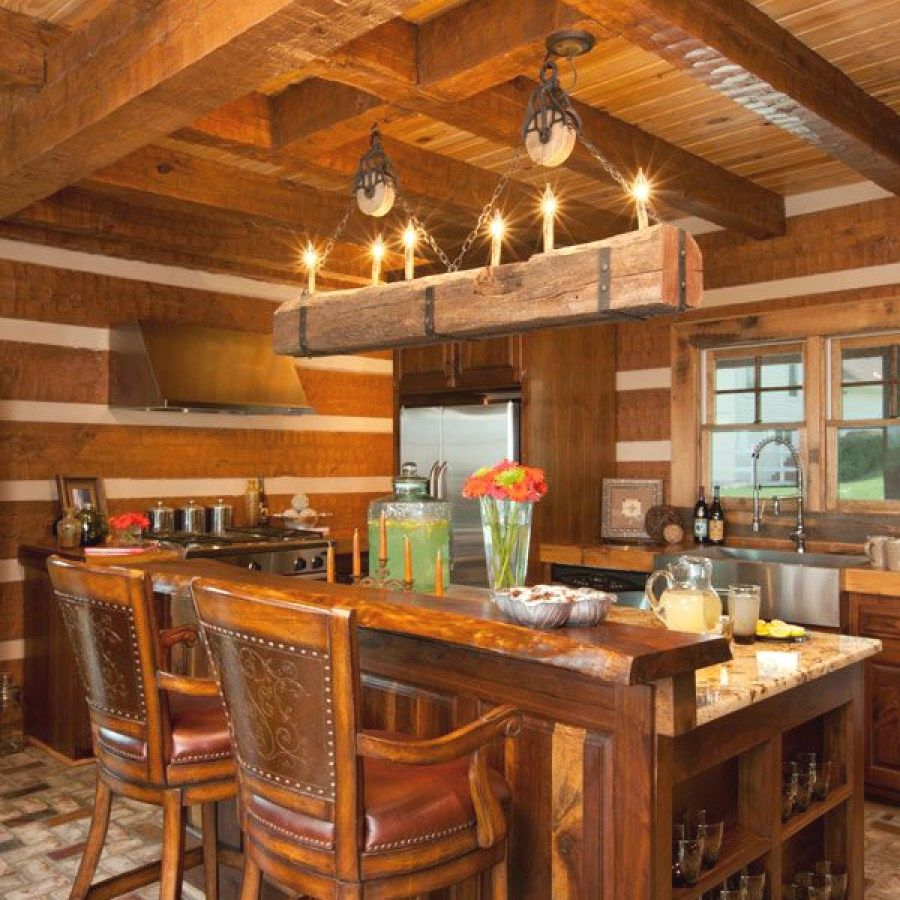 Beautiful Rustic Light Fixture Ideas To Update The Kitchen
