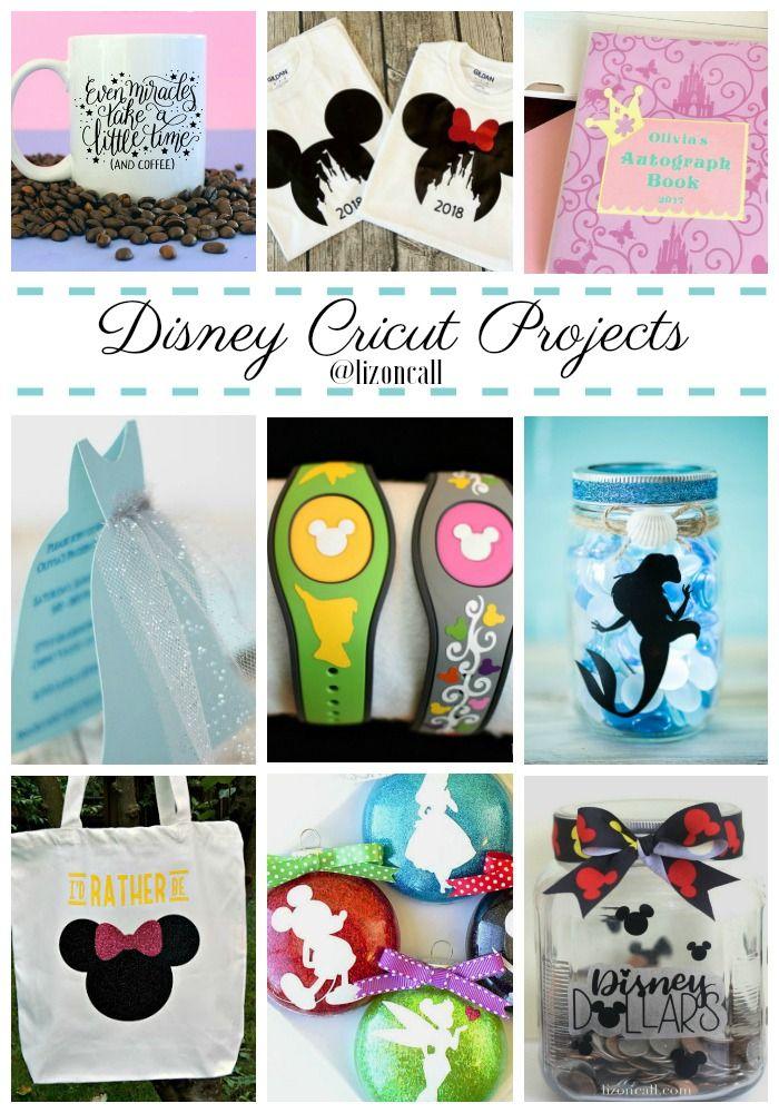 Disney Cricut Projects - Liz on Call