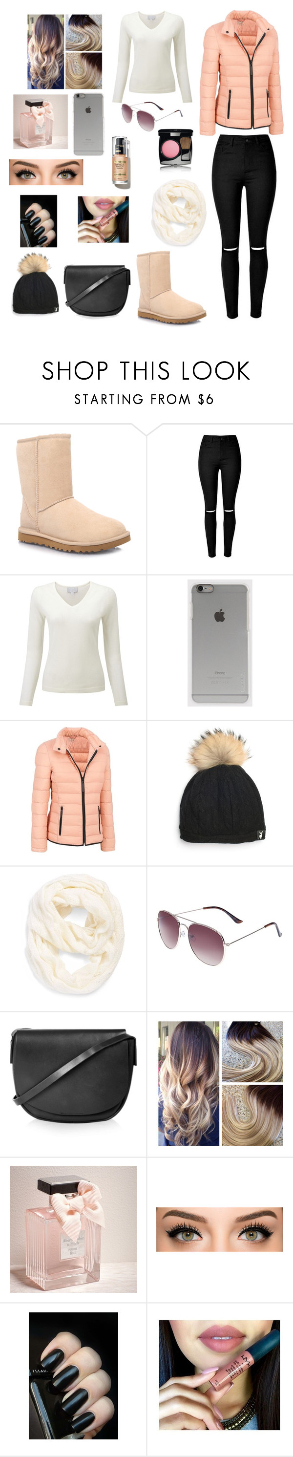 """Bez nalova."" by amela-tabakovic ❤ liked on Polyvore featuring UGG Australia, Incase, Andrew Marc, Echo, Topshop, Abercrombie & Fitch, Chanel, mens, men and men's wear"