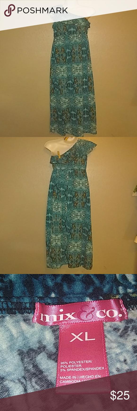 Long nice one shoulder dress my posh picks pinterest dresses