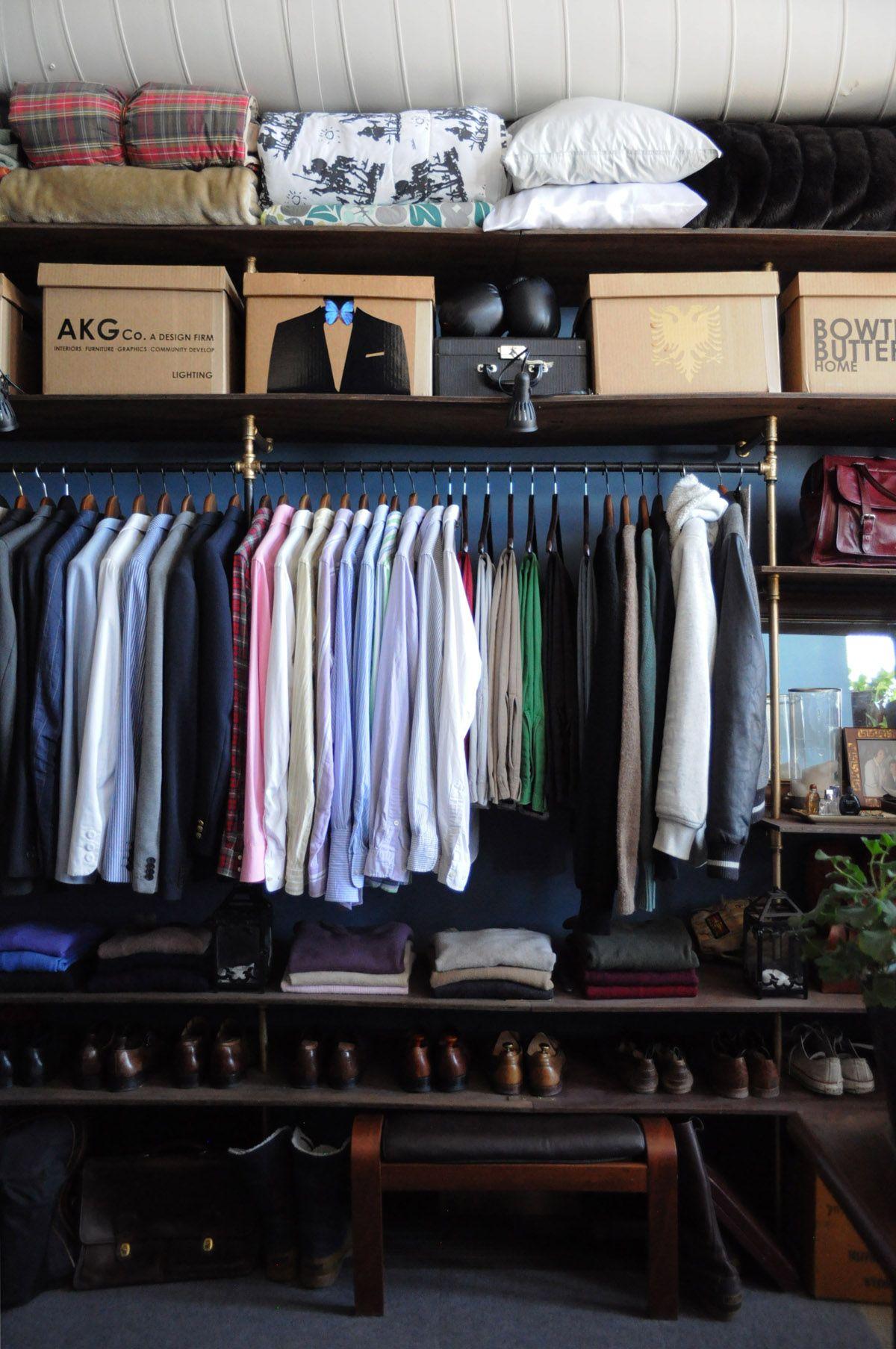 Loft bedroom with walk in wardrobe  Arthur u Kristinus Sunny Vintage Loft  Sunnies Lofts and Vintage