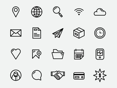 Simplicons Free Download Simple Icon Free Icon Set Icon Set