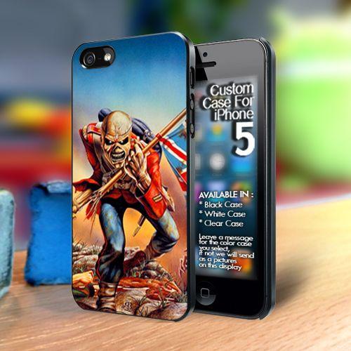 Wallpaper Iphone Iron Maiden: Iron Maiden The Trooper Iphone 5 Case