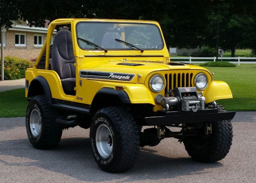 AutoTrader Classics - 1973 Jeep CJ-5 Yellow 6 Cylinder Automatic ...