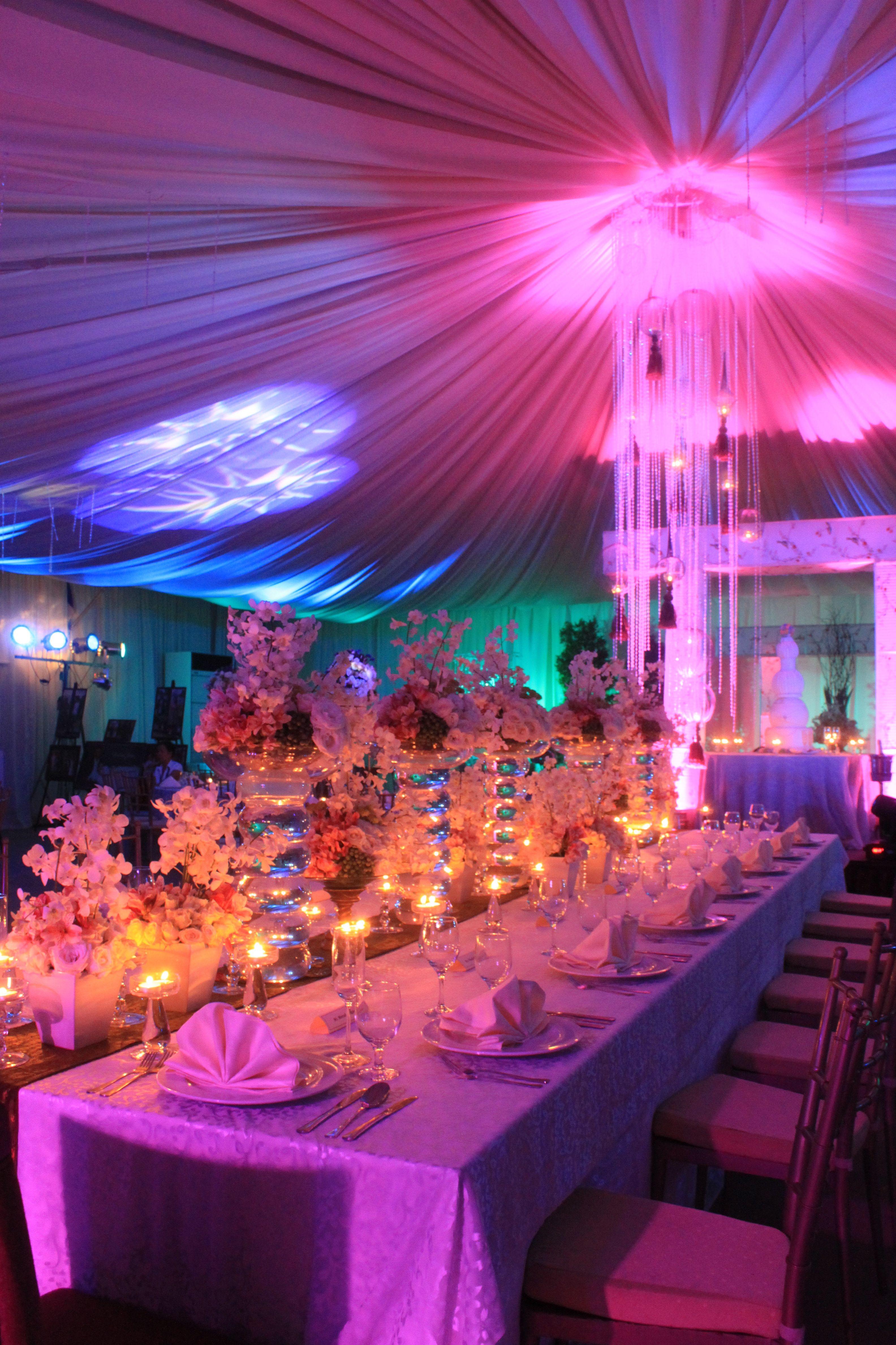 Presidential Table at Avenue Tent #Weddings #WeddingIdeas #Ideas ...