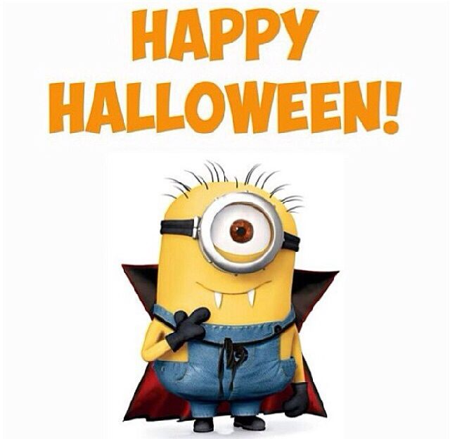 Minions! Wishing All A Happy Halloween!! Iphone Wallpapers Background Cell  Phone Screen