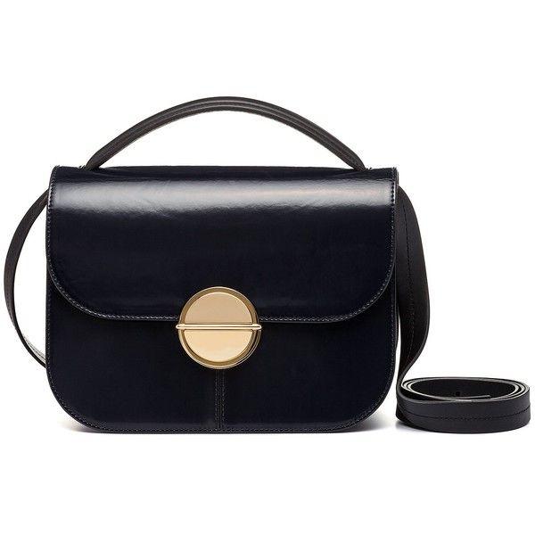 Shoulder Bag for Women, Black, Leather, 2017, one size Marni