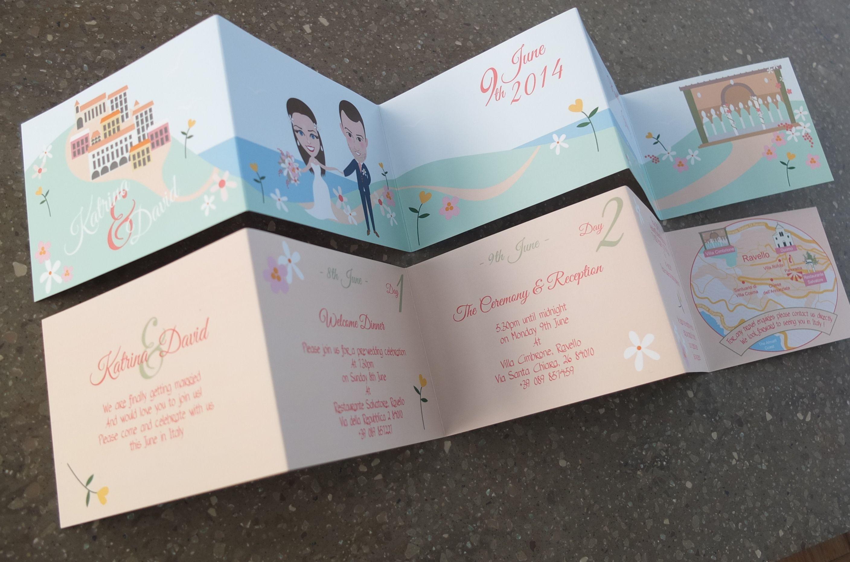 Bespoke wedding caricatures / Invitation Name Tags / Italian ...