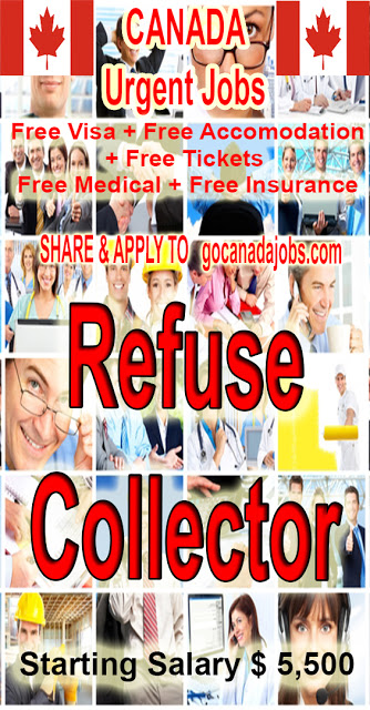 Refuse Collector Job Search In 2020 Volunteer Jobs Jobs For