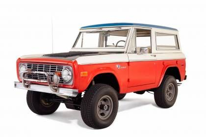 Early Bronco Restoration With Images Ford Bronco Classic Ford