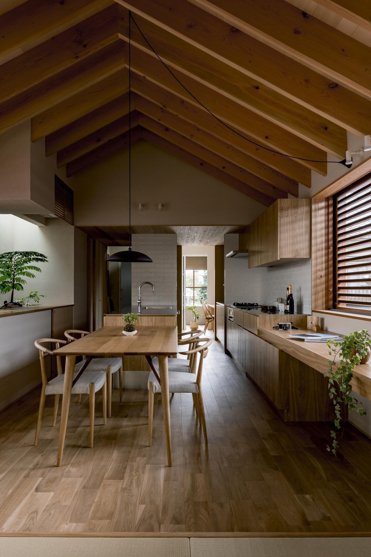 House In Shogei   Leibal Kitchen Design, Dining Room Design, Kitchen  Interior, Kitchen