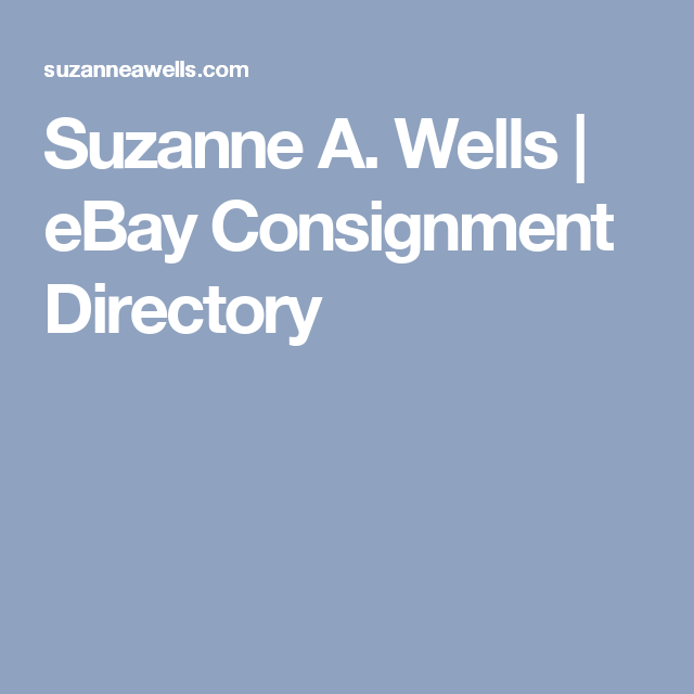 Ebay Consignment Directory Ebay Consignment Selling On Ebay