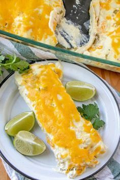 These Cream Cheese Chicken Enchiladas are seriously the best most creamy chicken enchiladas ever. The cheesy homemade enchilada sauce is to die for!   #chicken #enchiladas #creamcheese #maindish #numstheword #casserole #homemade #yummy #tasty #getinmybelly #todieforchickenenchiladas These Cream Cheese Chicken Enchiladas are seriously the best most creamy chicken enchiladas ever. The cheesy homemade enchilada sauce is to die for!   #chicken #enchiladas #creamcheese #maindish #numstheword #cassero #todieforchickenenchiladas