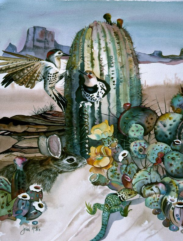 Cactus Flowers Flag Garden Size JMK1205GF