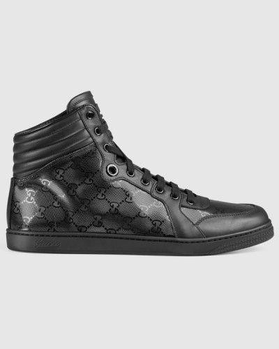 Sneaker 'Coda' mit hohem Schaft. Gucci Sneaker High Top.
