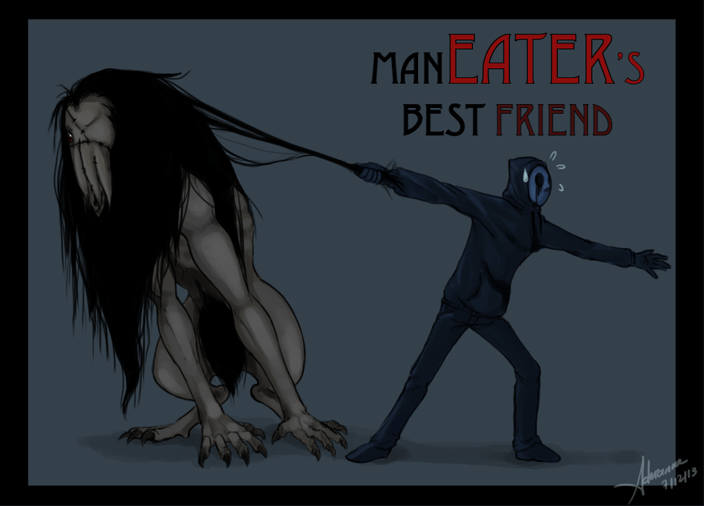 Eyeless Jack and Annoying pet, SeedEater | Creepy Pastas