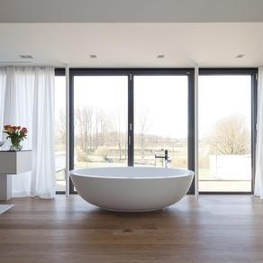 Bad Und Mehr Münster eine freistehende badewanne mit tollem ausblick nach draußen