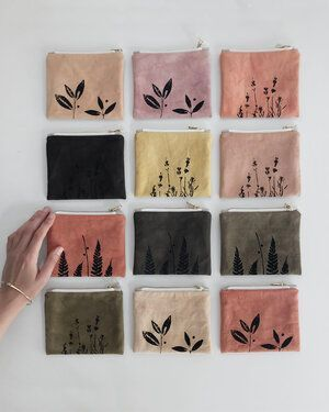 Small pouch // Plant dyed — kaliko