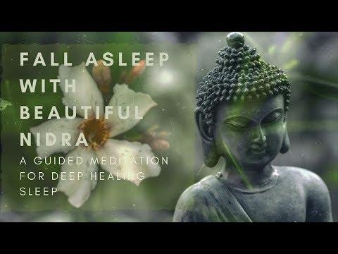 14 Fall Asleep With Beautiful Nidra A Guided Sleep Meditation For Deep Healing Sleep Youtube Sleep Meditation Yoga Nidra How To Fall Asleep