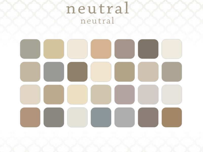 Behr paint color combinations for popular neutral color for Neutral tone paint colors