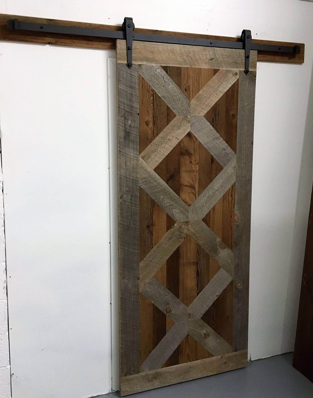 Reclaimed Barn Door Reclaimed Wood Door Sliding Door Door