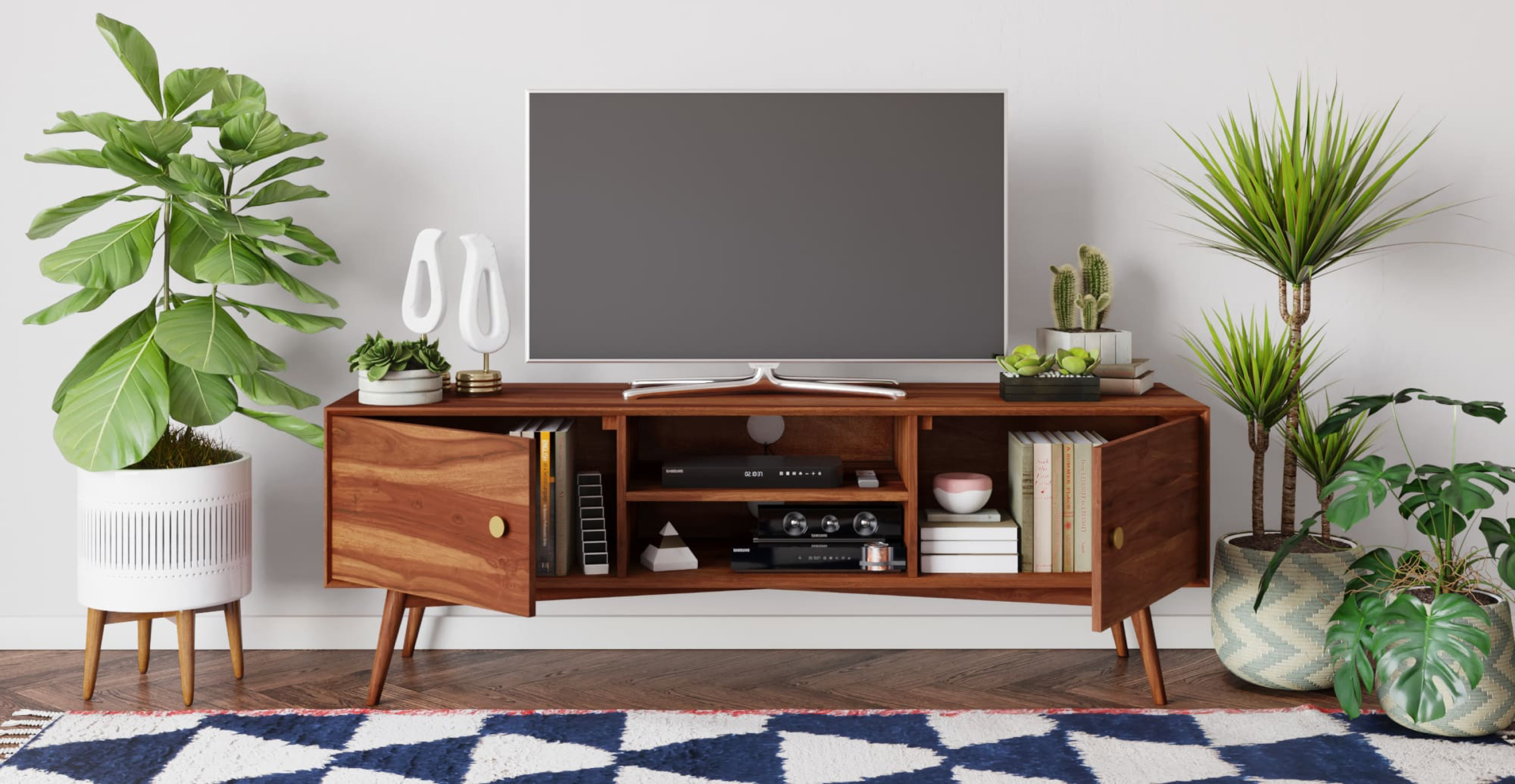 Frank Large Entertainment Unit Living Room Brosa In 2019