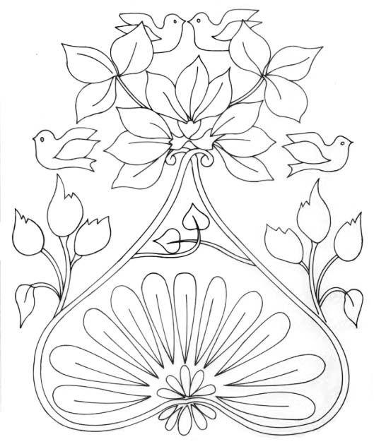 Art Nouveau \ Art Deco | Diseños | Pinterest | Patrones, Negro y Blanco
