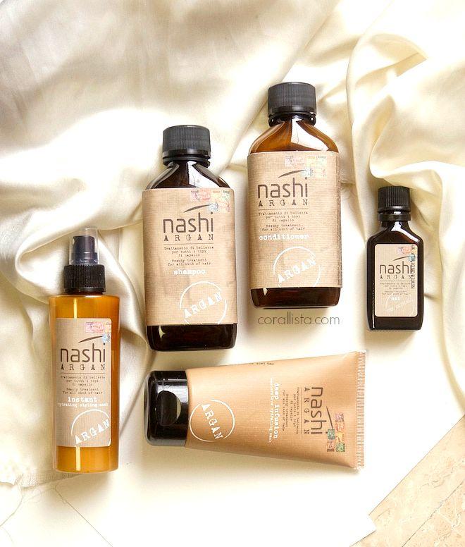 Nashi Argan Hair Care Review Corallista Beauty Cheveux Parfum