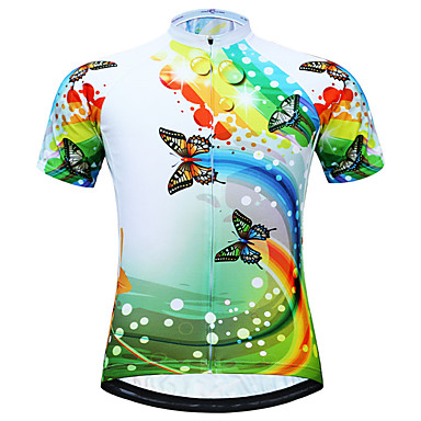 2019 Skull Cycling Jersey Men Shirt Short Sleeve Mountain Bike Quick Dry Clothes