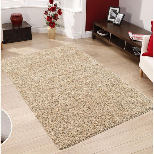 Epherus Shaggy Light Beige Area Rug Castleton Home Rug Size
