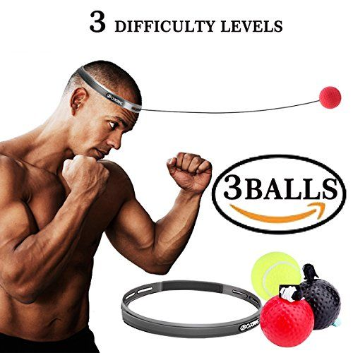 Boxing Fight Ball Reflex Improving Speed Reactions And Hand Eye Punch Equipment