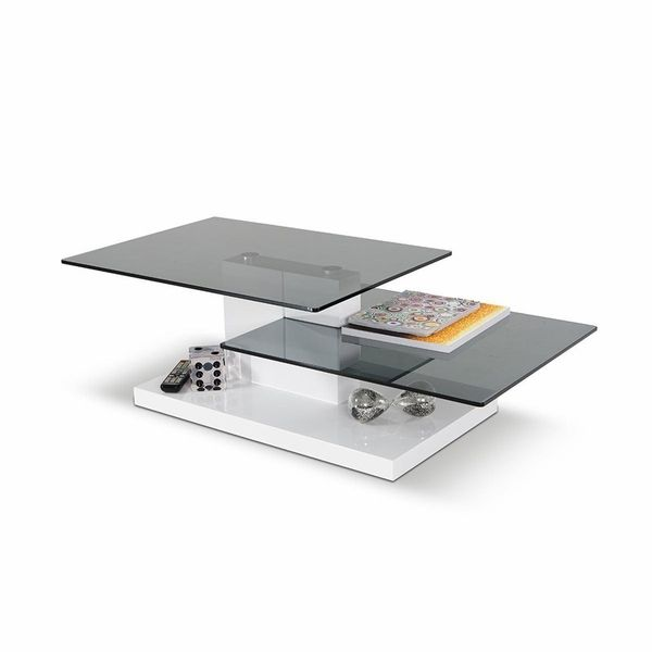 Argos High Gloss Table And Chairs: Contemporary High Gloss Coffee Table