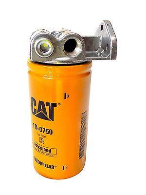 powerstroke 7 3l 6 0l 6 4l 6 7l diesel fuel filter remote mount for cat  1r-0749