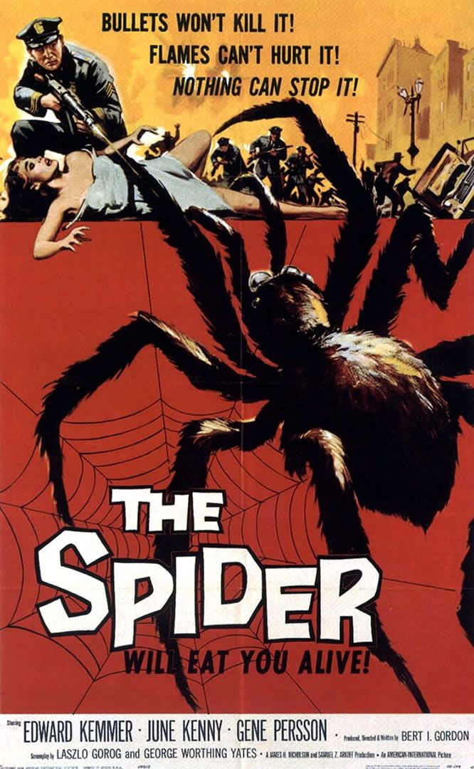 Earth vs the spider 1958 movie poster this is what im talkin earth vs the spider 1958 movie poster this is what im talkin about forewarned malvernweather Images