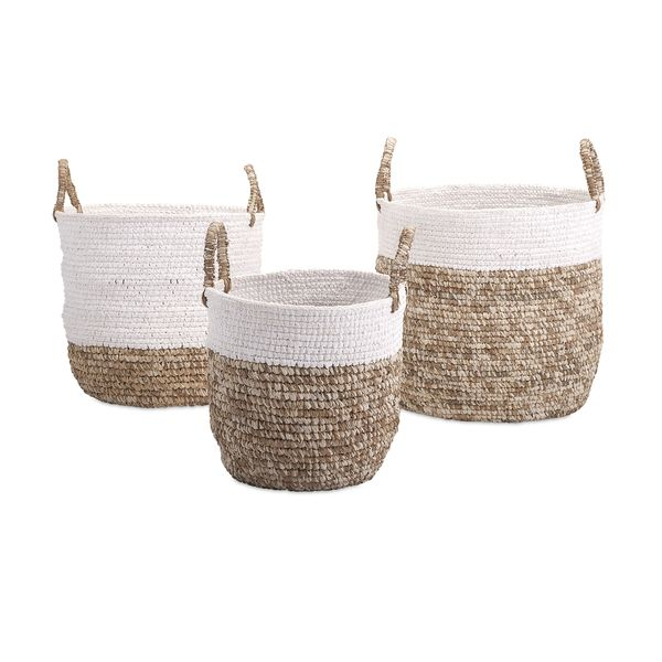 These Versatile Baskets Are The Perfect Addition To Any Coastal Style Room.  Use Them Photo Gallery