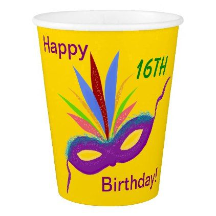 Purple mask birthday party personalized cups individual purple mask birthday party personalized cups individual customized designs custom gift ideas diy negle Images