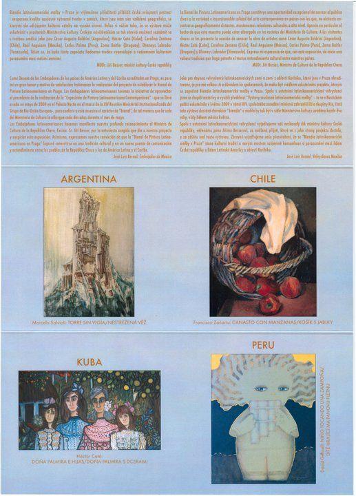Francisco Zañartu C. Catálogo II Bienal de Praga - Año 2012
