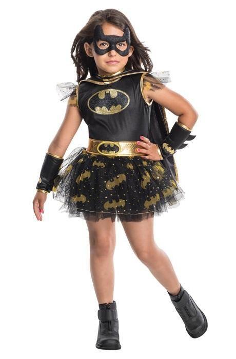 Batgirl Costume DC Comics Halloween Fancy Dress