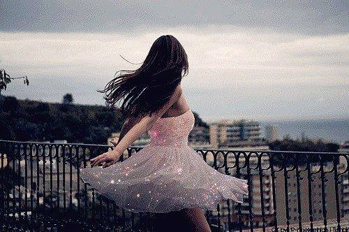 You know you're a dancer when...  you wear a dress and suddenly you want to do pirouettes everywhere.