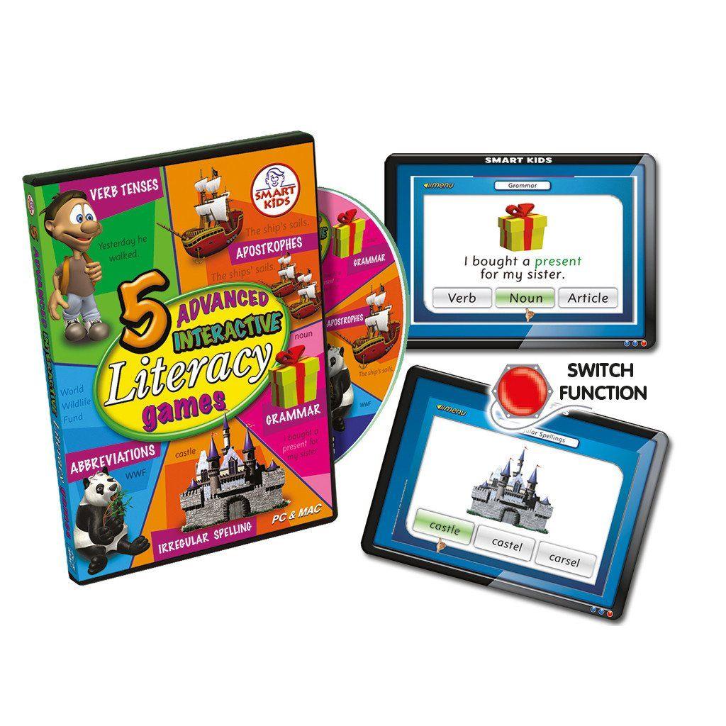 5 Advanced Literacy Games