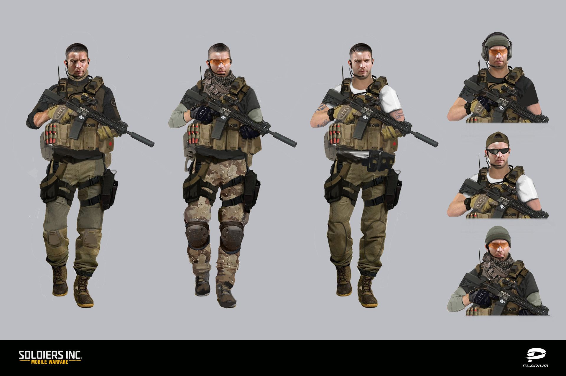 ArtStation - Soldiers Inc  Characters Concept art, Valentin