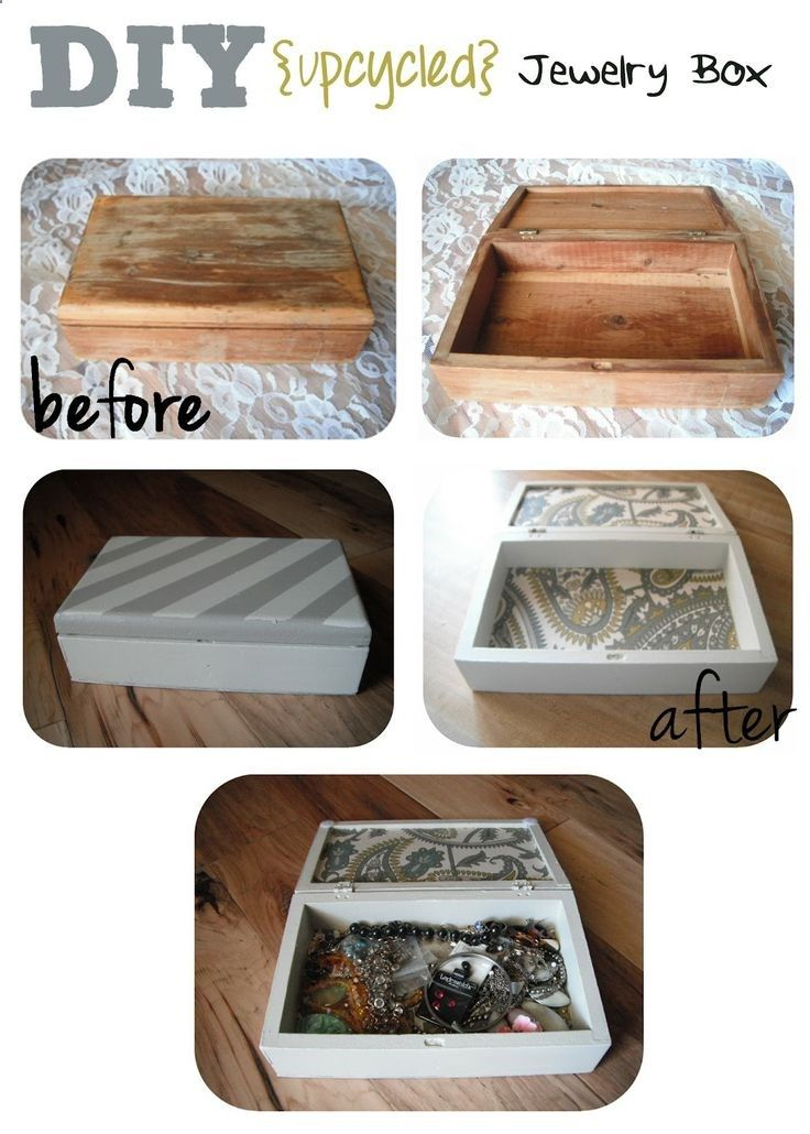 SewCal Mama: DIY Jewelry Box upcycled