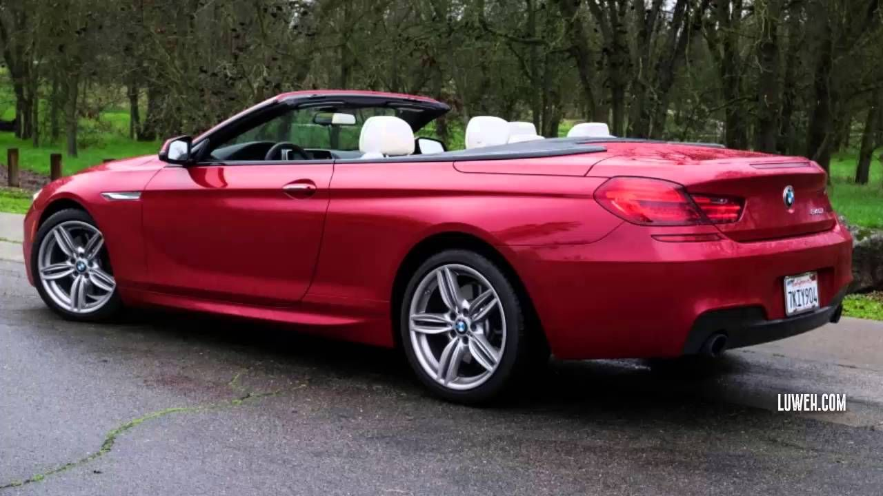 2016 BMW 640i Convertible 8 Speed Automatic