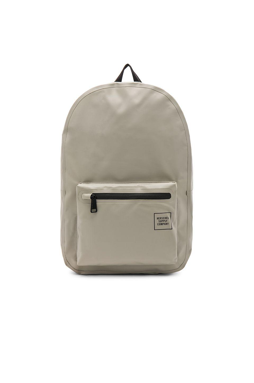 HERSCHEL SUPPLY CO. STUDIO SETTLEMENT TARPAULIN BACKPACK.   herschelsupplyco.  bags  leather 4c2c4faa8b