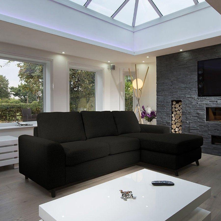 Large Modern Luxury Sofa Settee 2 5x1 5m L Shape Corner Group Rh Black Luxury Sofa Modern Luxury Settee Sofa