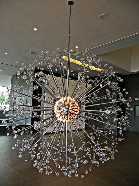 Entry chandelier phoenix art museum entry chandelier art museum entry chandelier mid century modern phoenix art museum looks like a firework aloadofball Choice Image