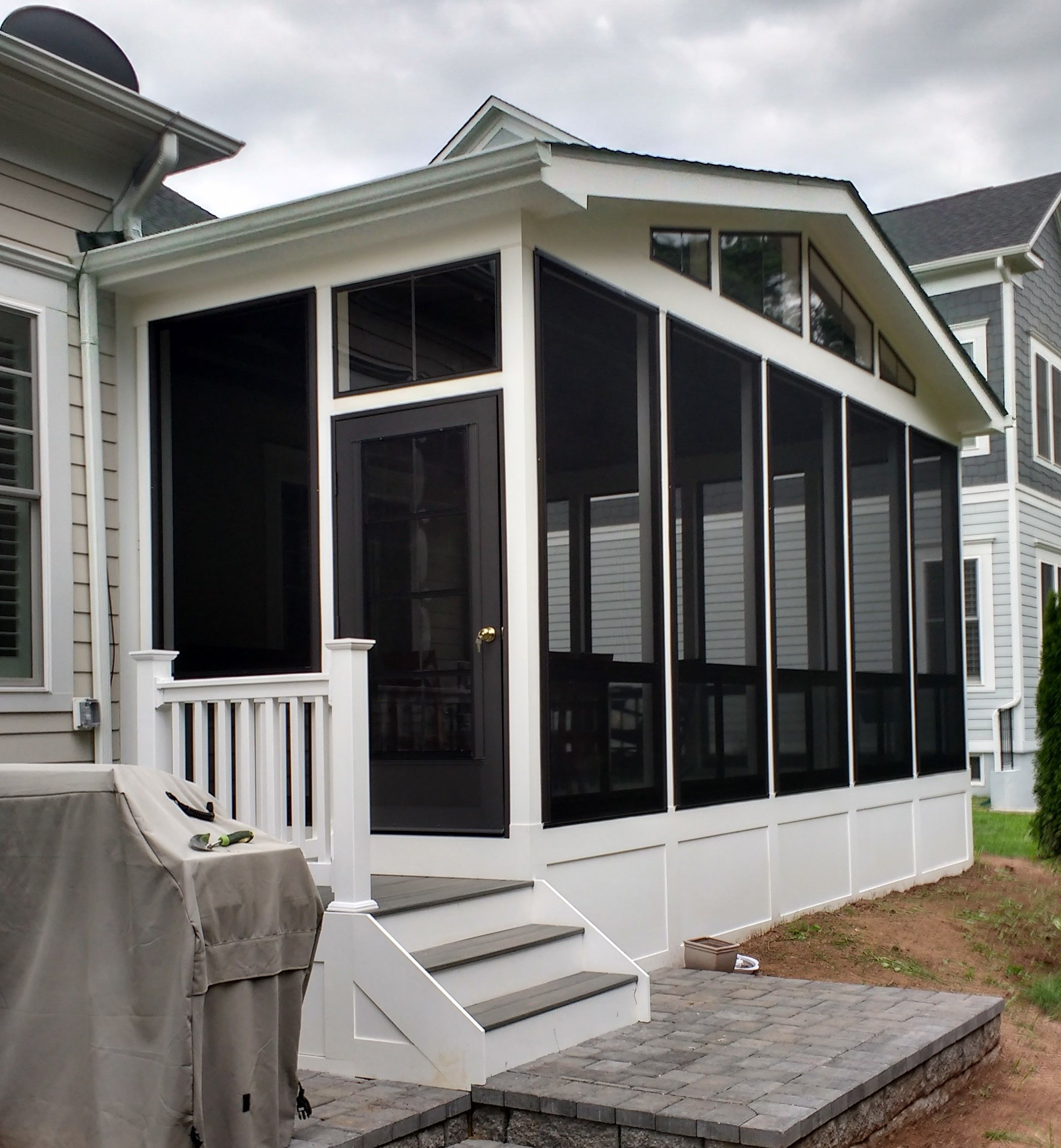 Screened Porch And Garage Oasis: Screen Porch Doors - Amazing EZ-Screen In 2020