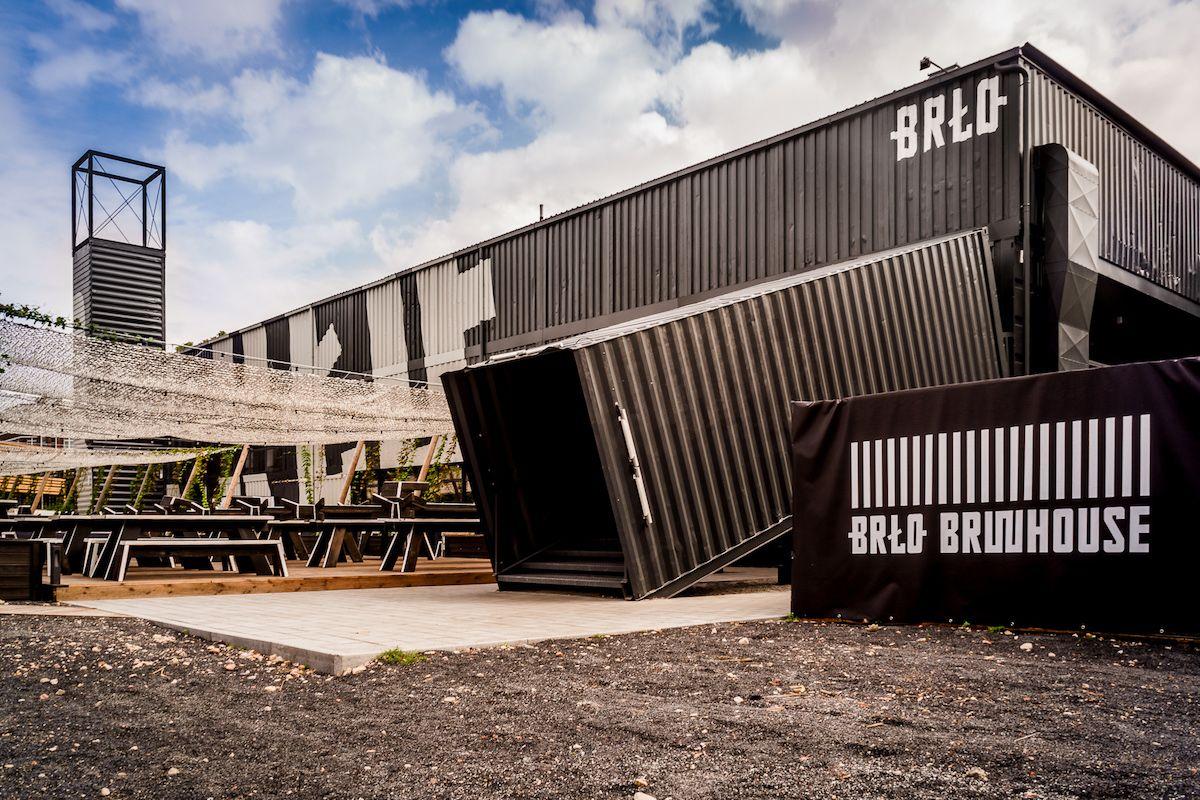 Die junge Berliner Biermarke Brlo benötigte ein passendes Gebäude ...